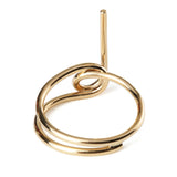 Wasson Fine 14k Gold Tube Ring / Shop Super Street - 5