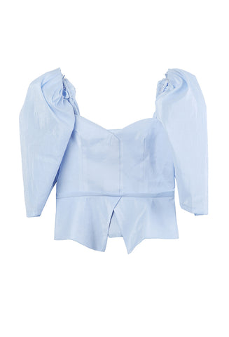 Marina Top Shimmer Blue