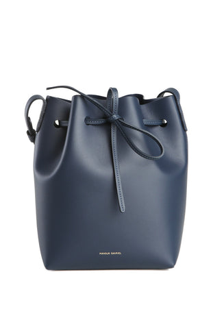 Blu Mini Bucket Bag