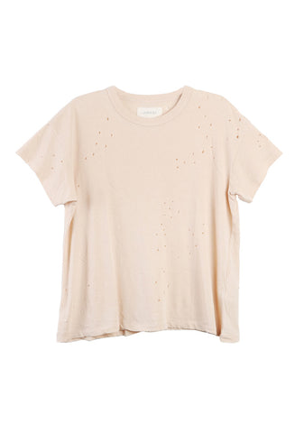 Boxy Crew Pale Pink Tee