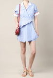 Carven Striped Shirt Dress / Shop Super Street - 2