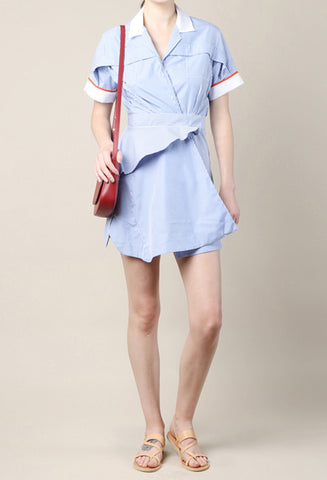 Carven Striped Shirt Dress / Shop Super Street - 4