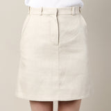 Carven Linen Skirt / Shop Super Street - 3