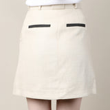 Carven Linen Skirt / Shop Super Street - 4