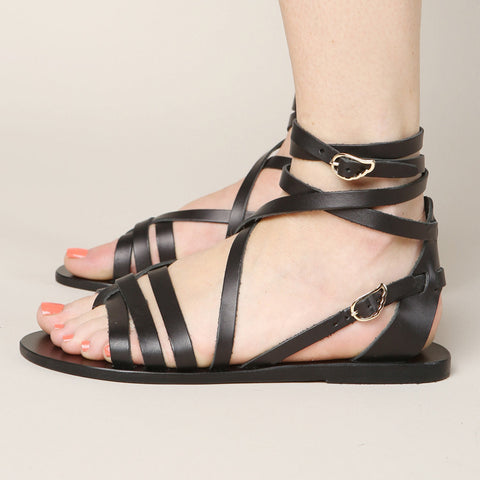 Ancient Greek Sandals Satira Ankle Strap Sandal / Shop Super Street - 1