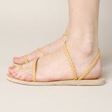 Ancient Greek Sandals Eleftheria Braided Strap Sandal / Shop Super Street - 3