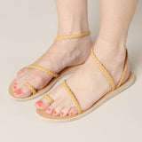 Ancient Greek Sandals Eleftheria Braided Strap Sandal / Shop Super Street - 4