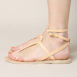 Ancient Greek Sandals Estia Thong Ankle Strap Sandal / Shop Super Street - 3