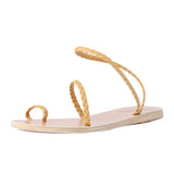 Ancient Greek Sandals Eleftheria Braided Strap Sandal / Shop Super Street - 5