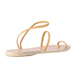 Ancient Greek Sandals Eleftheria Braided Strap Sandal / Shop Super Street - 6