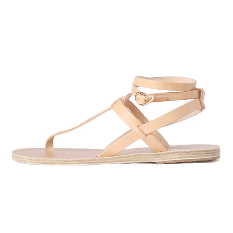 Ancient Greek Sandals Estia Thong Ankle Strap Sandal / Shop Super Street - 1
