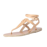Ancient Greek Sandals Estia Thong Ankle Strap Sandal / Shop Super Street - 4