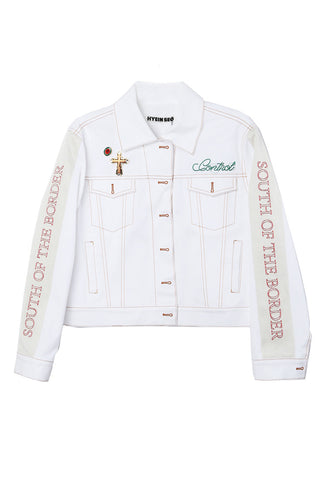 Embroidered Trucker Jacket