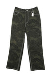 Safari Pants with Metal Key Ring
