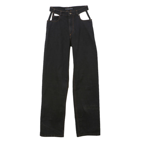 Y Project Black Cut Out Jean / Shop Super Street - 1