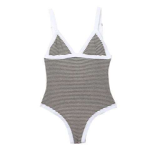 Shlaer Striped One Piece / Shop Super Street - 1