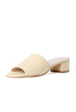 Maryam Nassir Zadeh Sophie Slide Natural / Shop Super Street - 2