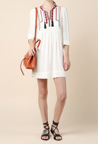 Isabel Marant Clara Ecru Dress / Shop Super Street - 1