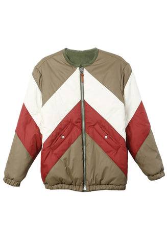 Isabel Marant Celia Puffy Colorblock Jacket / Shop Super Street