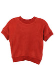 Raglan Sleeve Terry T-Shirt