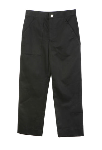 Relaxed Trouser Black