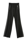 Crystal Trimmed Track Pant Black