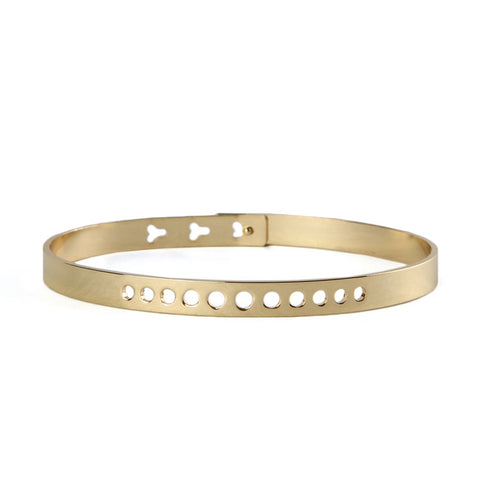 My Flash Trash Gold Bangle Bracelet / Shop Super Street - 1