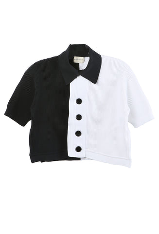 Thalia Shirt Black/White