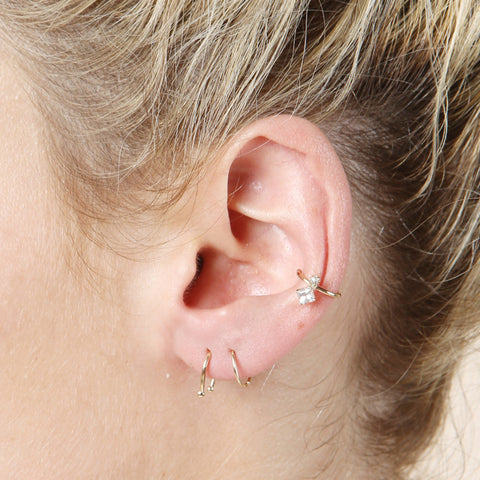 Loren Stewart Diamond Peak Ear Cuff / Shop Super Street - 1
