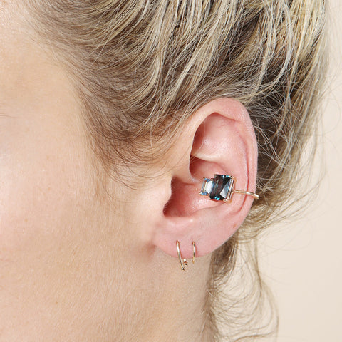 Loren Stewart Blue Crush Ear Cuff / Shop Super Street - 1