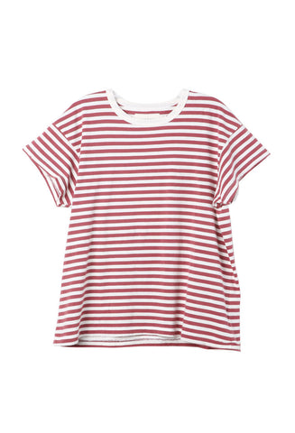 The Great The Boxy Crew Red and White Stripe / Shop Super Street - 1