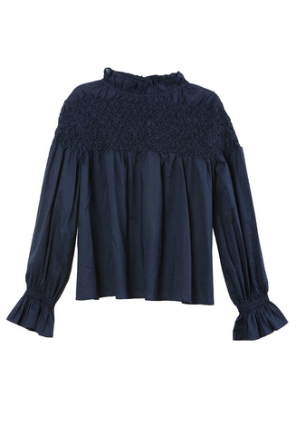 Majorelle Top Navy