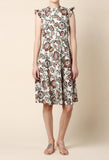 Rodarte Floral Print Cloque Dress / Shop Super Street - 2