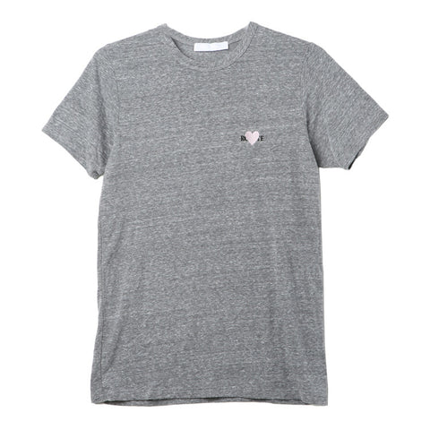 Rodarte Rodhearte Grey Embroidery T-Shirt / Shop Super Street - 1