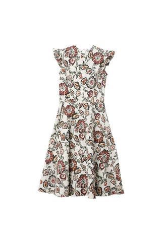 Rodarte Floral Print Cloque Dress / Shop Super Street - 1