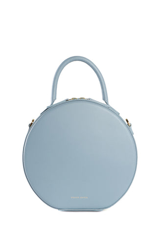 Circle Crossbody Grey Blue