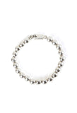 Small Silver Ball Tennis Bracelet