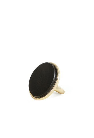 Ebony Tulip Ring
