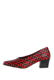Ruby Pump Black/Red