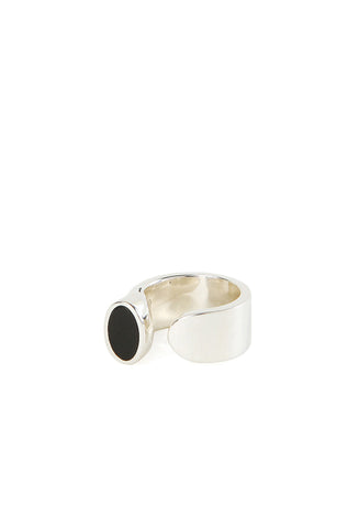 Silver Onyx Jette Ring