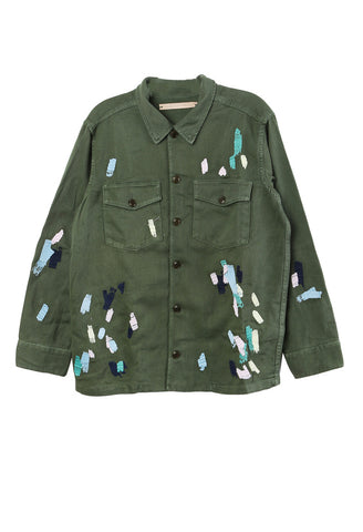 Mitchell Embroidered Paint Jacket