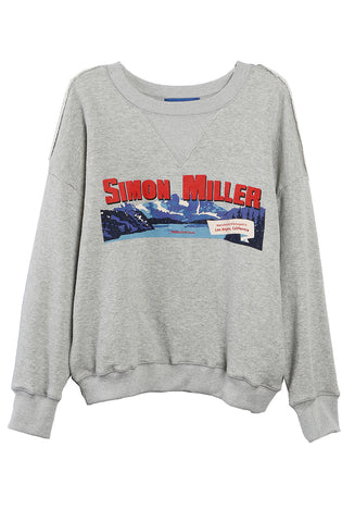 West Logo Sweatshirt Grey