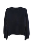 Long Sleeve Crewneck with Ties