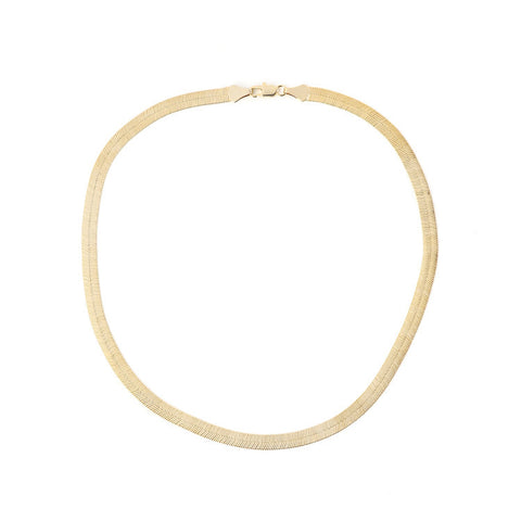 Blair Spencer Gold Herringbone Chain / Shop Super Street - 1