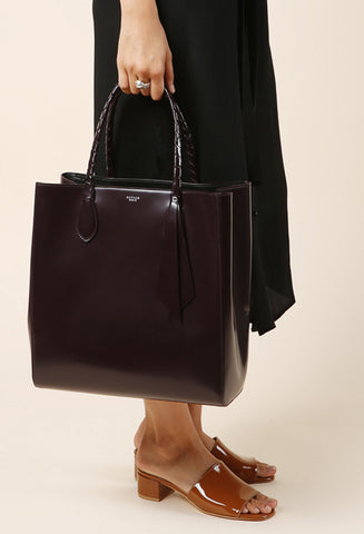 Rochas Burgundy Tote / Shop Super Street - 1