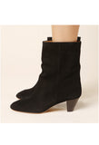 Isabel Marant Dyna Black Suede Boot / Shop Super Street - 2
