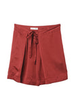 Isabel Marant Hudson Burgundy Skirt / Shop Super Street - 1