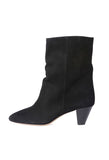 Isabel Marant Dyna Black Suede Boot / Shop Super Street - 1