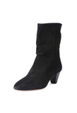 Isabel Marant Dyna Black Suede Boot / Shop Super Street - 3