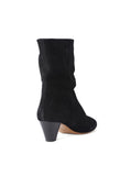 Isabel Marant Dyna Black Suede Boot / Shop Super Street - 4
